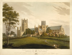 South East View of Ely Cathedral